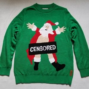 Nwot Tipsy Elves Ugly Tacky Christmas Sweater L